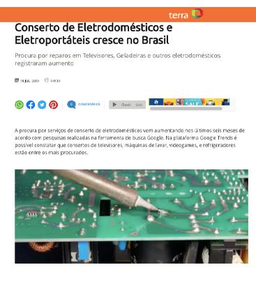 Franquia de conserto de eletrodomesticos
